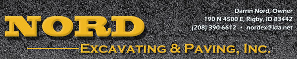 Nord Excavating and Paving Inc
